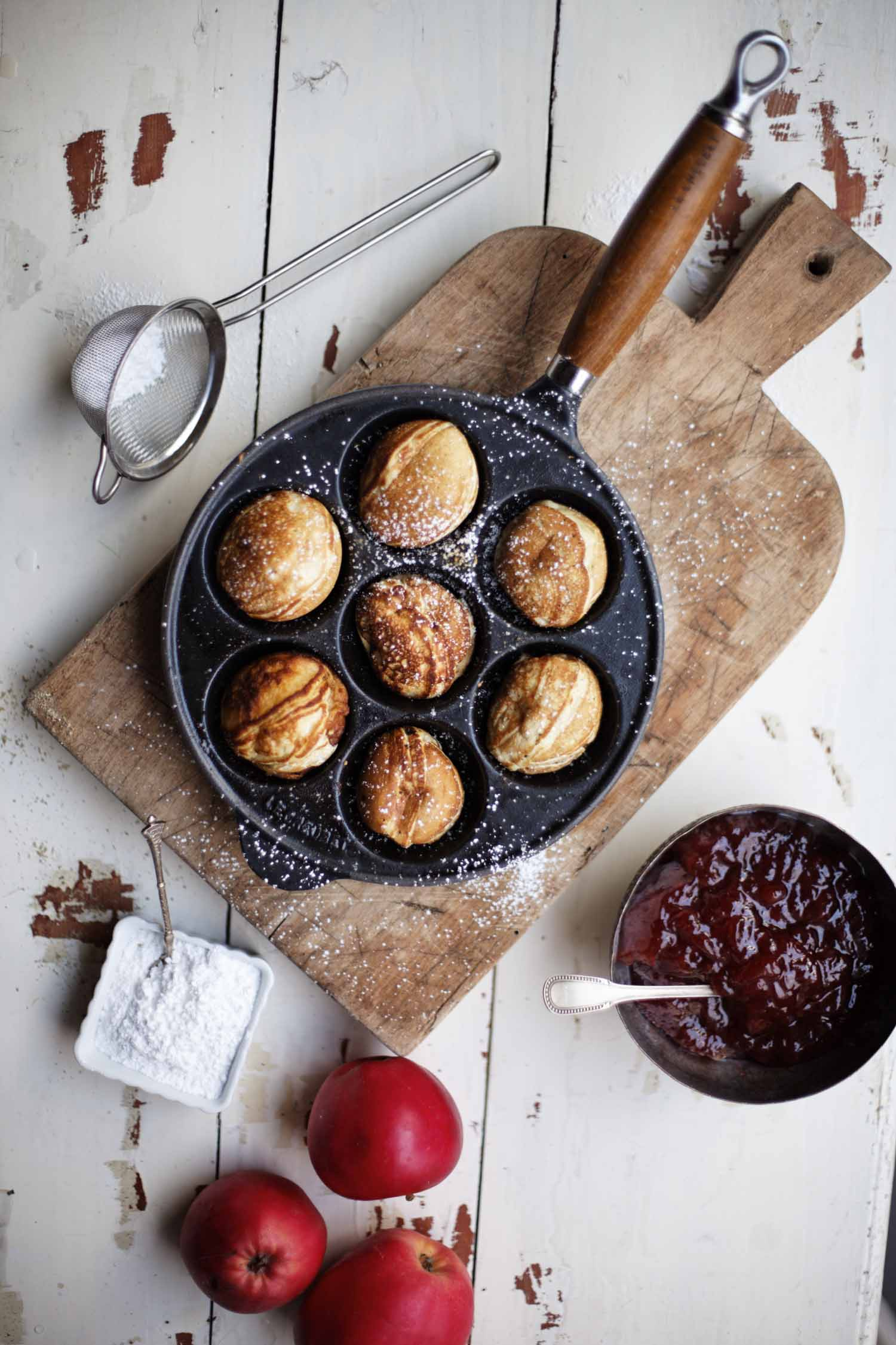 "Traditional Danish ""Æbleskiver"" Like My Great Grandma Used to Make"