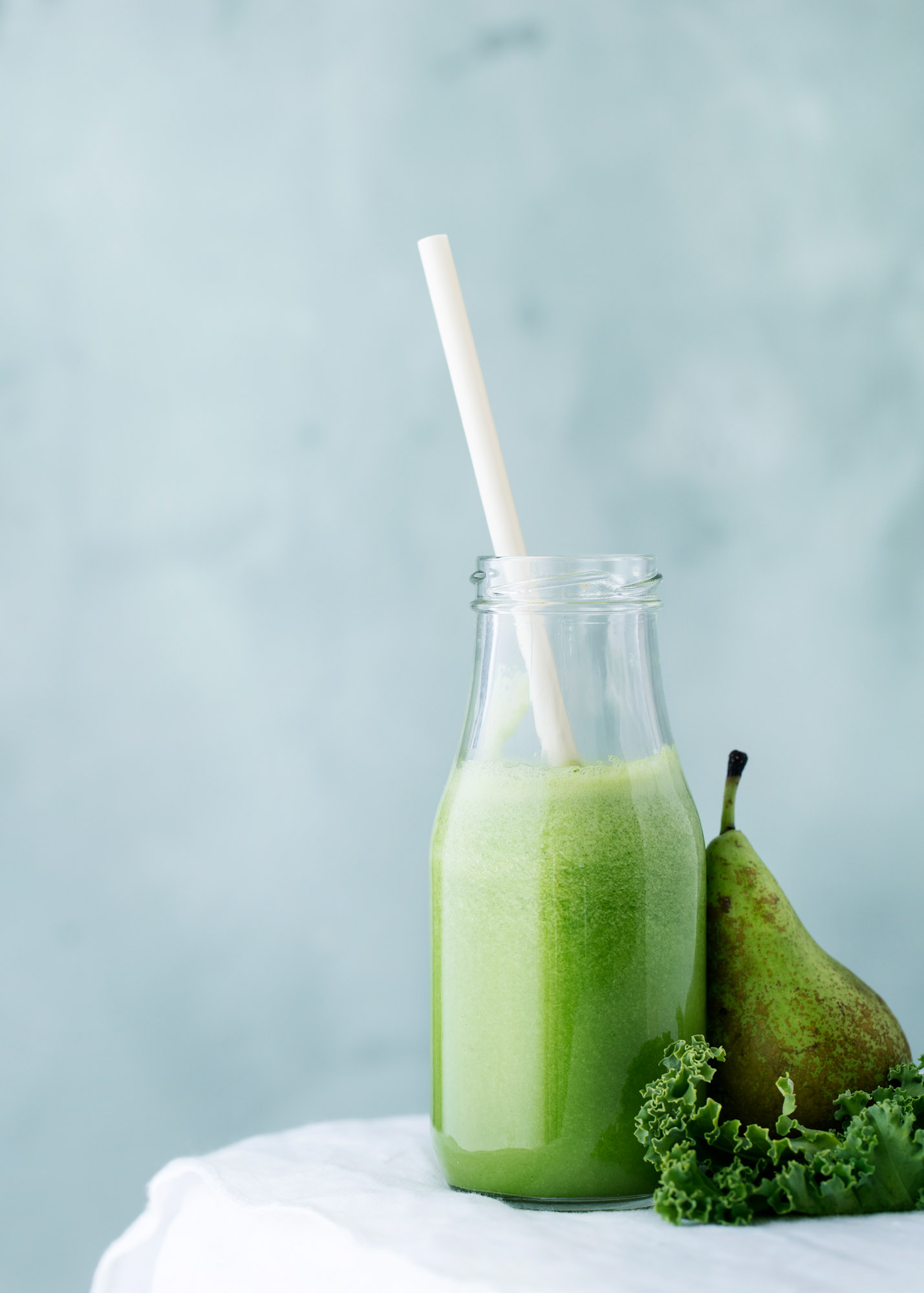 Green Morning with Kale and Pears